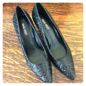 Nine West-Sparkle Heels